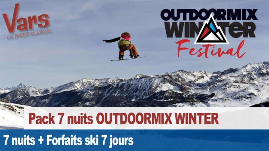 pack outdoormix winter Vars semaine