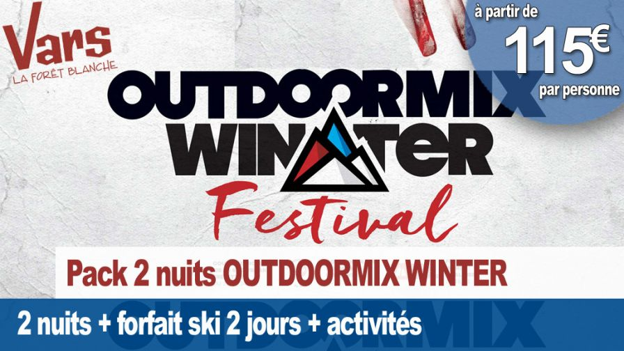outdoormix winter festival VARS