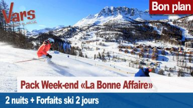 pack week-end la bonne affaire vars