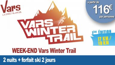 Vars Winter Trail 2 NUITS